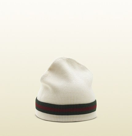 Gucci - knit hat with signature web detail. 2060854G8691066  af6b088e200