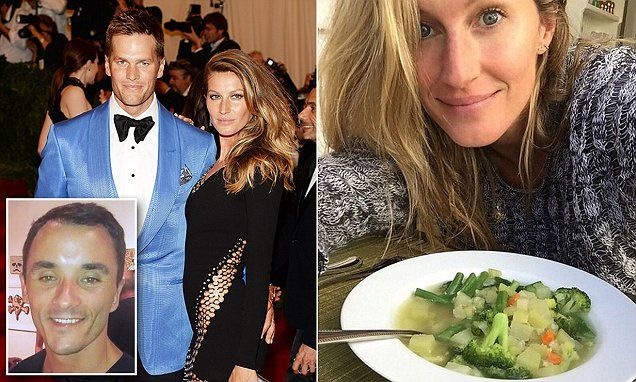 Gisele and Tom Brady's personal chef details the family's plant-based diet | Daily Mail Online