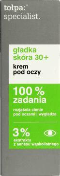 tołpa, specialist, emulsja pod oczy, gładka skóra 30+, 15 ml, nr kat. 240868 - Internetowa drogeria Rossmann - Zakupy online