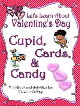 Valentineu0027s Day History Booklet (Layered Book And Mini Book Versions)