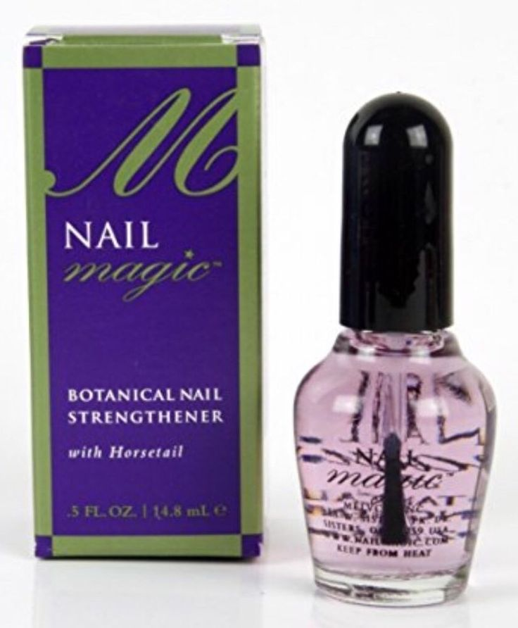 Nail Magic Hardener Strengthener Full Size 5 Oz Free Gift