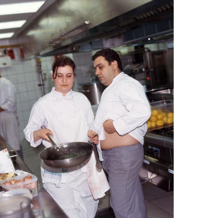 My favorite greek chef..Christoforos Peskias...meet him at P box restaurant.