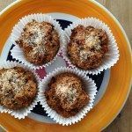 Havermout muffins met abrikoos