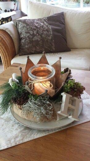 Winter deko deko pinterest - Deko tablett dekorieren ...