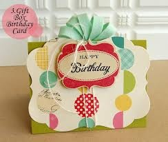 diy birthday cards - Google Search: Christmas Cards, Gift Boxes, Crafts Ideas, Cards Ideas, Diy Crafts, Bday Cards, Greeting Cards, Happy Birthday Cards, Cards Diy