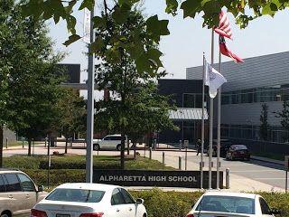 Alpharetta High School & Nearby Homes