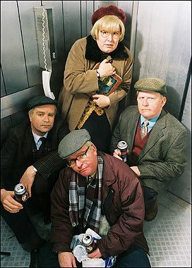 Still Game - Glaswegian OAP mischief. I love this show: I am so glad I've been able to see this show. Has me in stitches: these people have actually helped me stay sane at times!