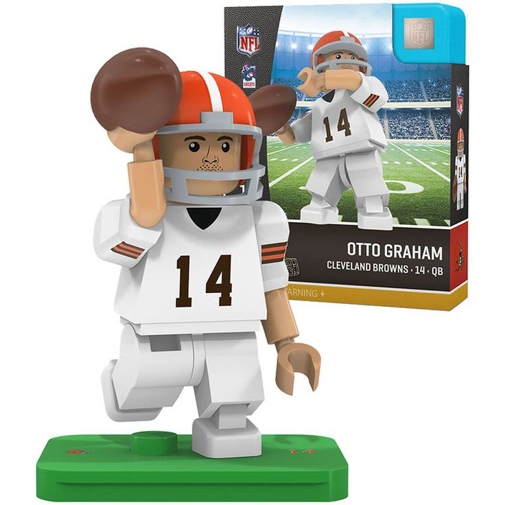 Otto Graham Cleveland Browns OYO Sports Legends Minifigure