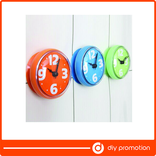 Lovely Waterproof Wall Clock Shower Bathroom Suction Find Complete Details About