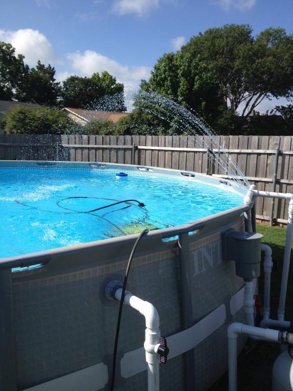 above ground pool pump plumbing - Google Search