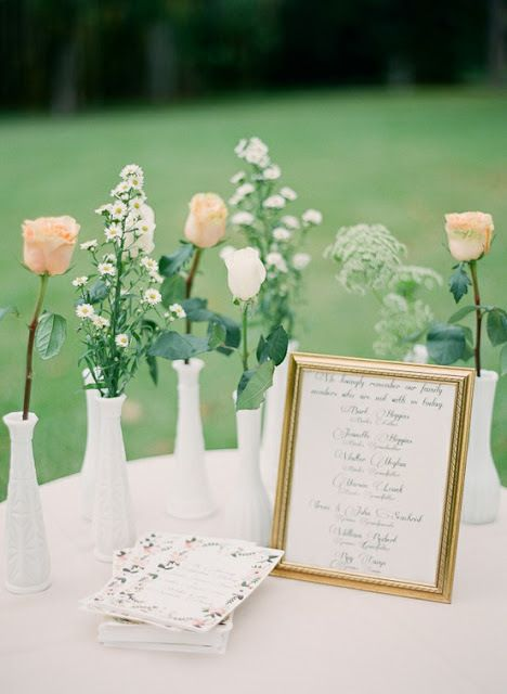 Honoring Lost Loved Ones At Your Wedding | Oh Lovely Day