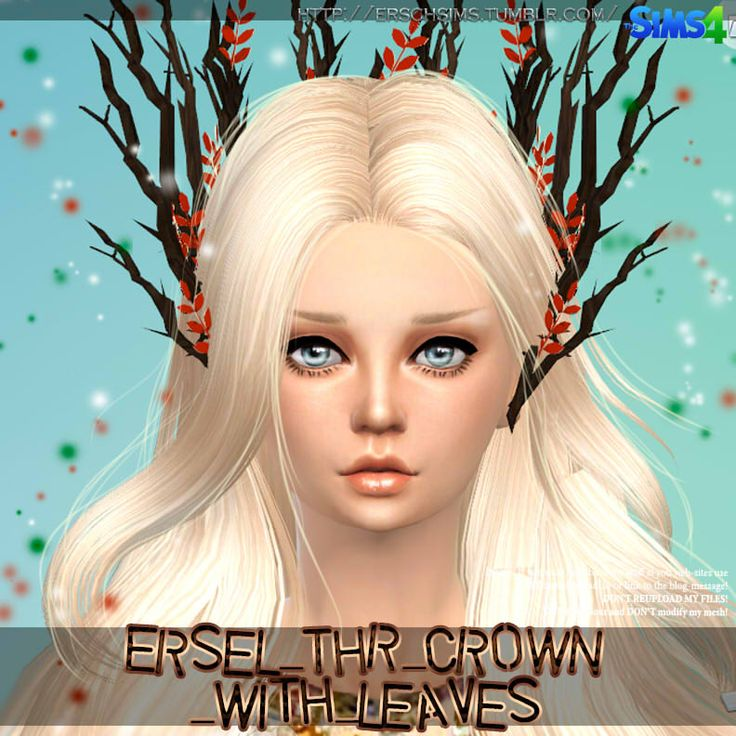Tree crown with leaves by Ersel at ErSch Sims via Sims 4 Updates