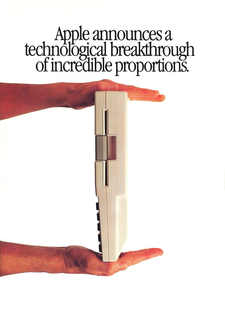Apple advertisement from Personal Computing 1984 {we had one of these!}