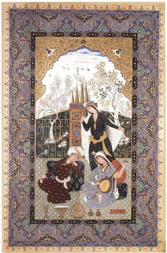 میرزا آقا امای نگارگری