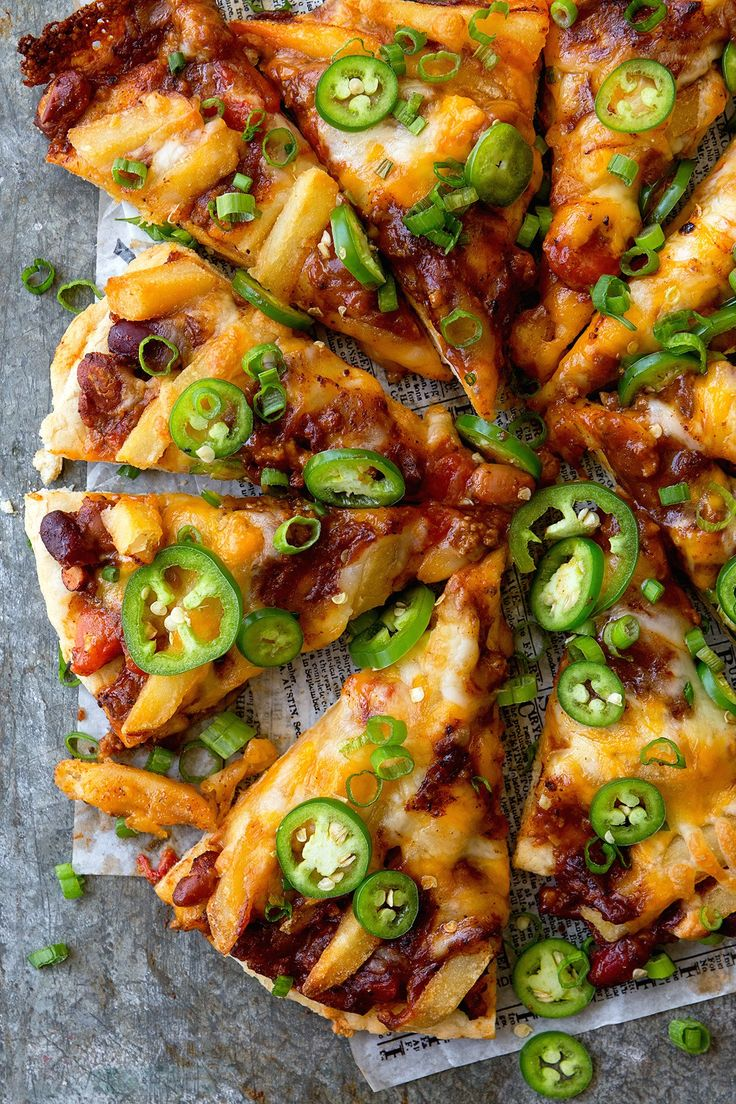 Chili Cheese Fries Pizza | Real Food by Dad