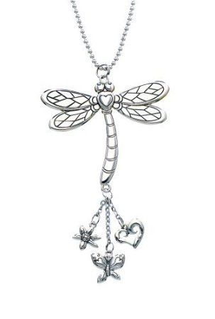 Girly Dragonfly Rearview Mirror Car Charm By Ganz Cute Accessories For Girls