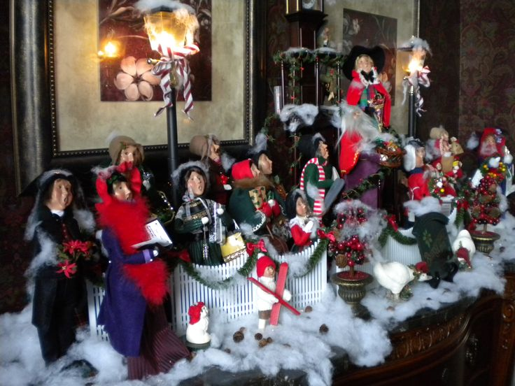29 best byers choice displays images on Pinterest Caroler - christmas carolers decorations