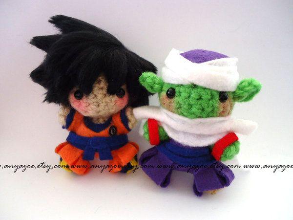 Make Japanese Amigurumi Ball : Goku and Piccolo Amigurumi by AnyaZoe.deviantart.com on ...