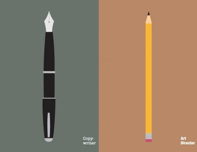 Copywriters versus Art Directors