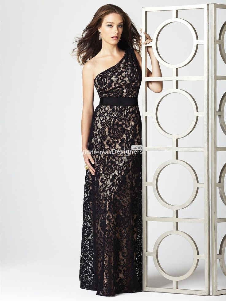 Be stunning in black! Elegant bridesmaid & formal gowns in black. $209.00