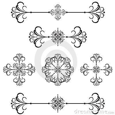 ornamental line art - Google Search