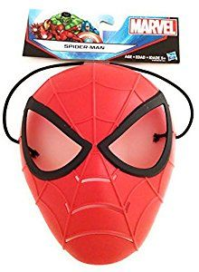 Amazon.com: Spiderman Walkie Talkies Marvel Superhero Mashers Action Figure and Spiderman Mask: Toys & Games