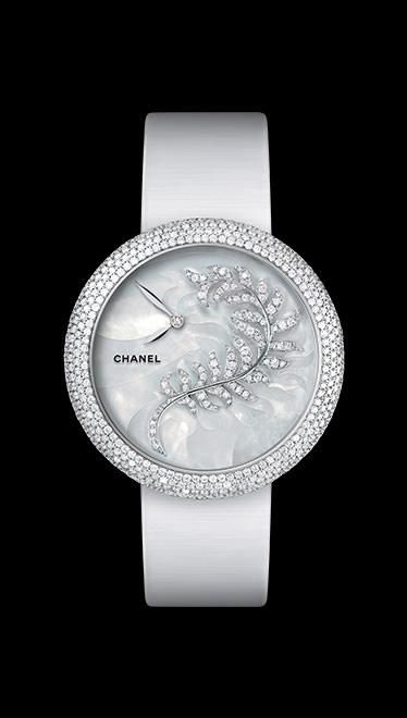 CHANEL-Mademoiselle Privé d'Exception Collection-Bijoux de Diamants Jewelry - H 4587-  Pearl marquetry and Diamonds  $94.000