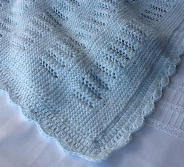 M s de 25 ideas fant sticas sobre mantas para beb s en - Mantas de punto hechas a mano ...