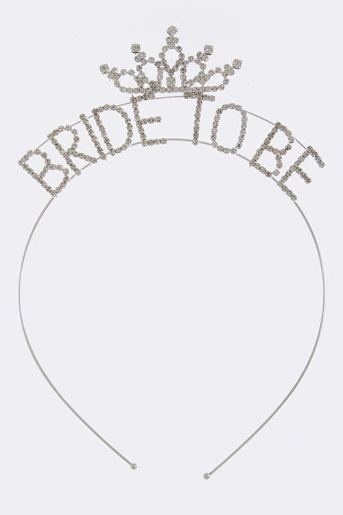 Super adorable and delicate tiaras for the bride! Also makes great bachelorette party or bridesmaids gifts!