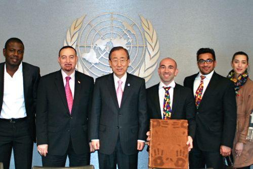 Ban Ki-moon endorses UN International Day of Happiness--March 20 is the UN International Day of Happiness! Be Happy!