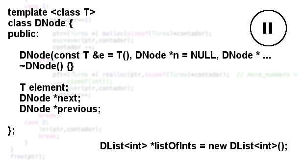 Doubly linked list with class templates (Part II) - Out4Mind