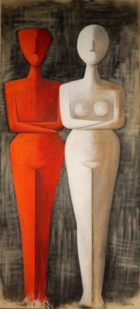 Πίνακας ζωγραφικής Ζευγάρι