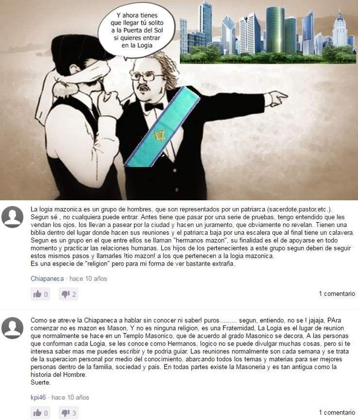 """Querid@s friki-fans: En la red se encuentran infinidad de estupideces sobre la masonería. Esta es una de ellas. """"Al profano se le vendan los ojos y, de esa guisa, se le pasea por la ciudad. Nos representa un """"patriarca"""" y es de obligado que nuestros hijos..."""