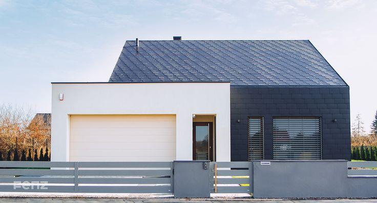 Wszystkim, którzy cenią #nowoczesne #budownictwo pragniemy zaprezentować naszą realizację w Kłodawie. Właściciele domku jednorodzinnego wybrali #ogrodzenie #Fenz w systemie Regular. Wybrany odcień RAL9007 współgra z kolorystyką elewacji.