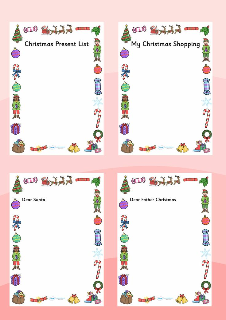 Santa letters santa letters pinterest free letters 20 letters to letter to santa spiritdancerdesigns Choice Image