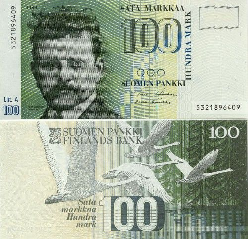 finland currency | Finland Markkaa - Finnish Euro Currency Banknote Photo Gallery ...