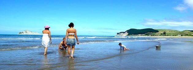 Mums at the beach