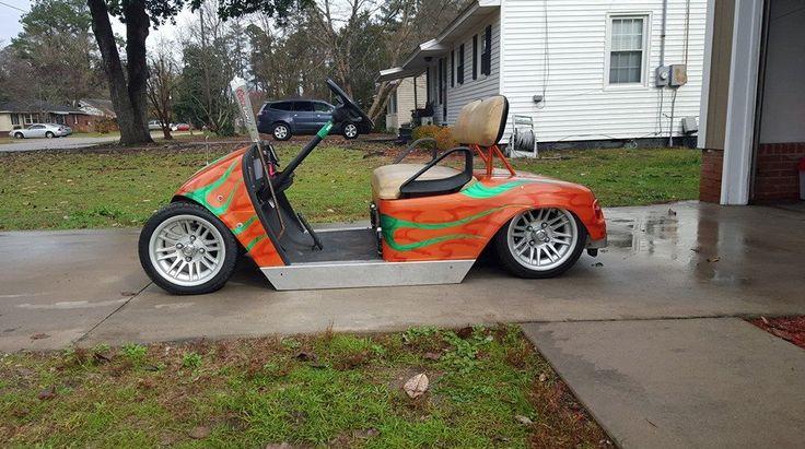 Pin by Ryan Fenters on Slammed Golf Carts Pinterest
