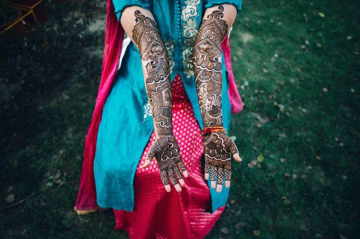 Infinity Of Indian Beauty. Mehendi Art · INSPIRATION by Wedding.net