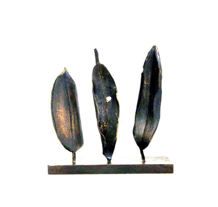 Parnell Gallery artist Graeme Smith Pohutukawa Leaves http://www.parnellgallery.co.nz/artworks/artist-graeme-smith/pohutukawa-leaves/