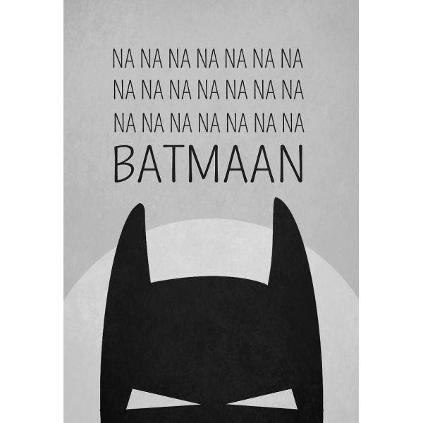 Lámina Batman de Wiho Design