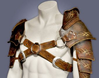 Gladiator Shoulder Armour Spartacus Replica by Armrd on Etsy