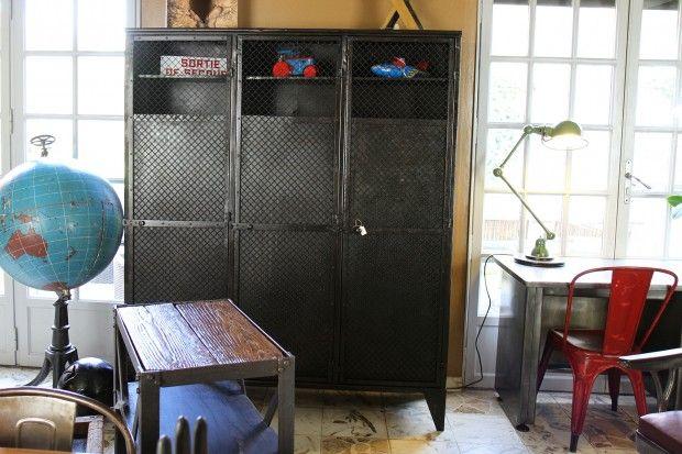 So broc indus mobilier industriel et vintage tourcoing vintage - Mobilier design industriel vintage ...