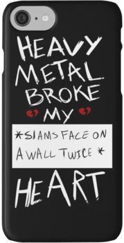 Fall Out Boy Centuries - Heavy Metal Broke My Heart iPhone 7 Cases
