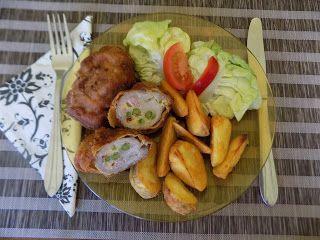 Családi kondér: Brüni sertésrolád (Töltött rántott hús)