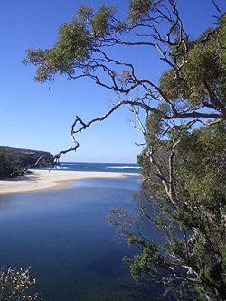 Wattamolla Beach, National Park, Sydney, Australia