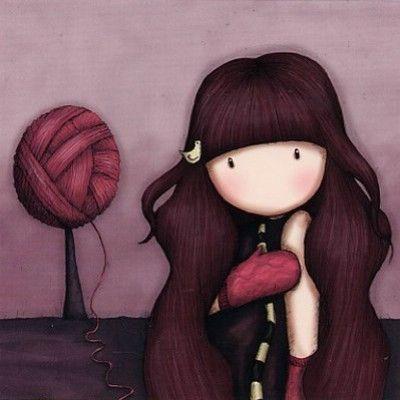 pink     - by gorjuss