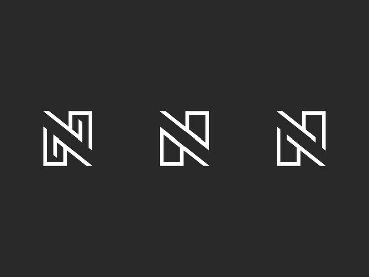 "Letter ""N"" Logo Variations by Victor Belinatti"