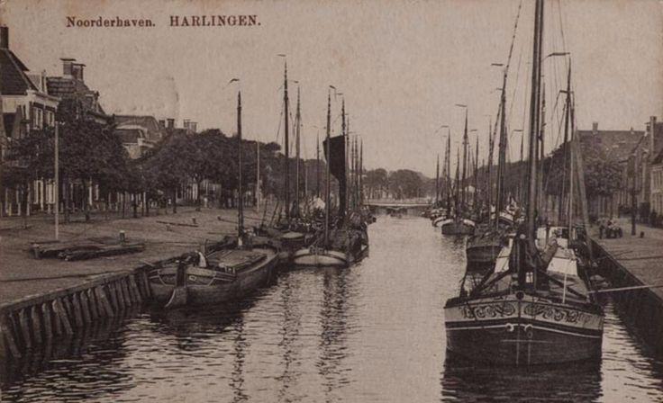 Harlingen - Noorderhaven - circa 1910