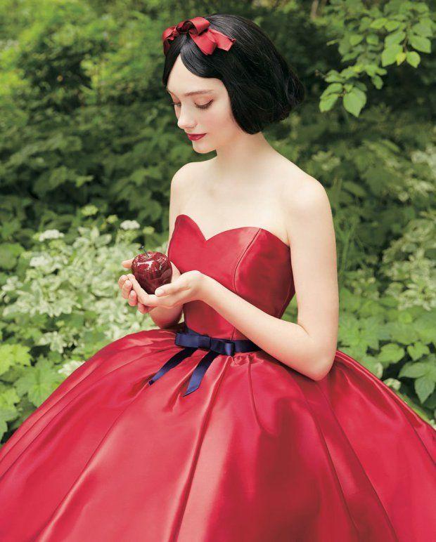 Snow White Wedding Dress - Princess - Vestido Casamento - Disney - Once Upon a Time - Branca de Neve - Fairy Tales - Photos by Disney Japan/Kuraudia Co
